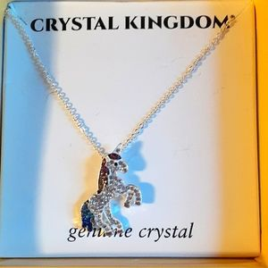 Crystal Kindom, Crystal unicorn necklace